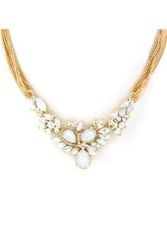 Madison Necklace in Crystal Shimmer