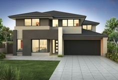 Clarendon Home Designs: Waterside 38 S - Facade Option 2. Visit www.localbuilders.com.au/builders_nsw.htm to find your ideal home design in New South Wales