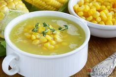 Receita de Sopa de milho simples