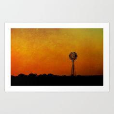 Kansas Art Print by RDelean - $19.00