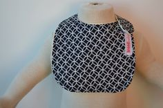 MAO Modern CNeck Infant Bib with Velcro Closure One by breedbaby, $15.00