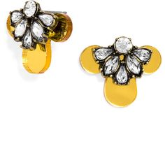 BaubleBar Brunello Studs ($34) ❤ liked on Polyvore featuring jewelry, earrings, mirrored jewelry, stud earrings, studded jewelry, baublebar jewelry and earrings jewelry