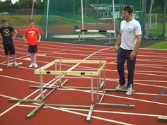Sports Discover VID 14 Graham Beasley former GB athlete demonstrates warm Box hurdle drill to England international Karate athletes Track Team, Sports Track, Track Drill, England International, Volleyball Workouts, Running Form, Running Injuries, Long Jump, Track Workout