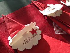 Bely's kreative Stempelideen: Decoración de mesa para navidad / Tischdeko zur Weihnachten