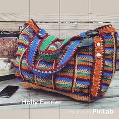 Ravelry: Carnival tote pattern by Holly Ferrier