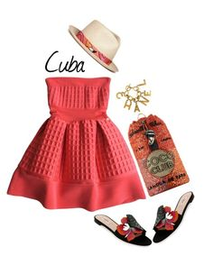"""""""Pack and Go: Cuba!"""" by dianefantasy ❤ liked on Polyvore featuring Chanel, Valentino, My Bob, polyvorecommunity, polyvoreeditorial, Packandgo and cuba"""