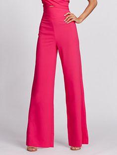 146a97e1 Shop Gabrielle Union Collection - Wide-Leg Pant - Hot Pink. Find your  perfect