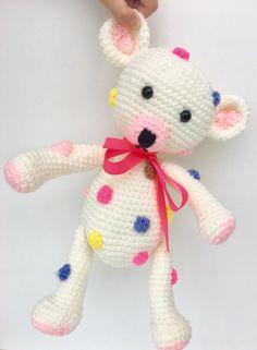 A personal favorite from my Etsy shop https://www.etsy.com/listing/487634733/crochet-teddy-bear-amigurumi-birthday