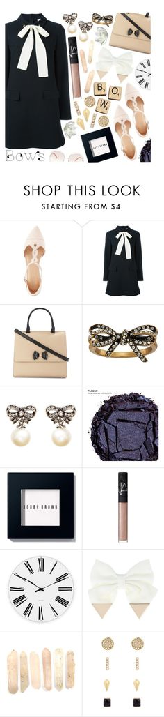 """""""School Daze"""" by tropicalcraze ❤ liked on Polyvore featuring Charlotte Russe, RED Valentino, Ted Baker, Marc Jacobs, Urban Decay, Bobbi Brown Cosmetics, NARS Cosmetics, Rosendahl, Hasbro and Kenneth Cole"""