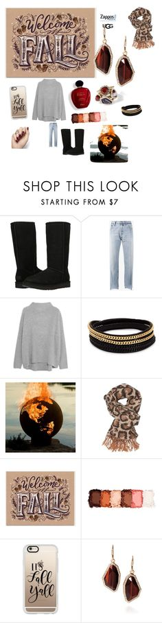 """The Icon Perfected: UGG Classic II Contest Entry"" by antaya-marie-washausen ❤ liked on Polyvore featuring UGG Australia, Vetements, Vince, Vita Fede, Charlotte Russe, Satine, NYX, Casetify, Chloe + Isabel and ugg"