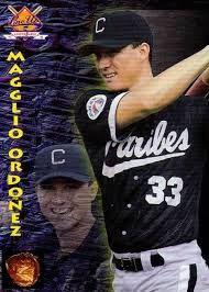 Maglio Ordoñez jugador de Los Caribes de Oriente en la liga de Beisbol Venezolana