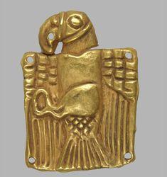 Scythian Golden Bird Tribes of Woman, in The Museum of Russian Art