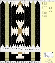 18 cards, 4 colors. Bunad, Smykker, vev & rosemaling: Brikkevev