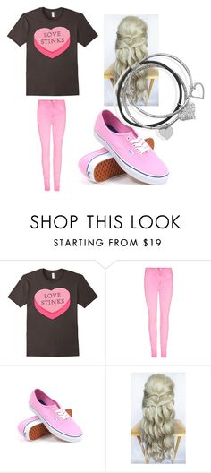 """Valentine's Day Outfit 5"" by thatnewgirlnextdoor ❤ liked on Polyvore featuring Vans and BillyTheTree"