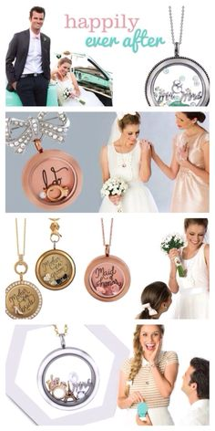 The New Origami Owl Bridal Collection has been a huge hit with bridesmaids! Lets create custom gifts for your wedding party! order now at Christinapainter.origamiowl.com