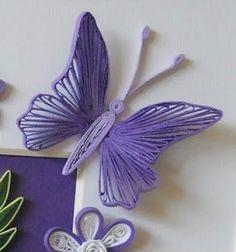 Quilling ( papírcsík technikával ) készült pillangók / Mindy -  kreatív ötletek és dekorációk minden napra
