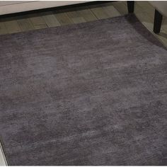Ravine Hand Tufted Grey Lilac Area Rug Calvin Klein Home Size Rectangle 122 X 183cm