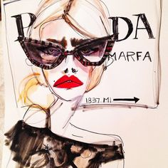 Blair Breitenstein fashion illustration