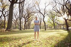 The Patricia dress in Central Park