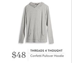 Stitch Fix for Men September 2016 - Threads 4 Thought, Confetti Pullover Hoodie