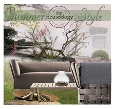 """""""Summer Style/Outdoor and Garden Competition"""" by eyesondesign ❤ liked on Polyvore featuring interior, interiors, interior design, home, home decor, interior decorating, Pomax, Murmur, Lene Bjerre and TastemastersDesignGroup"""