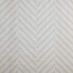 Dedar Wallpapers: WAVE AVORIO col. 080 by Dedar - A large chevron pattern, poised between a classical motif and a modern W. Embossed and chromatically overprinted, Bambù wallpapers are in fire-retardant and light-resistant vinyl.