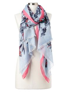 butterfly scarf. swoon!