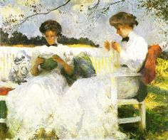 Afternoon in September  Frank W. Benson