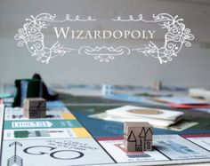 Wizardopoly: A Harry Potter Inspired and Monopoly Based Board Game