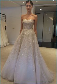 9ebe5803 50 Dress for A Spring Wedding 2017 Wedding Dress Sparkle, Gown Wedding, Sparkle  Wedding