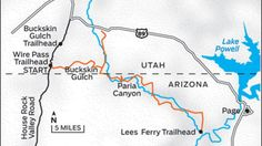 Explore Arizona's Paria Canyon   Outside Online