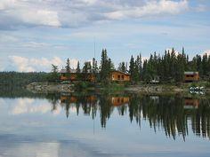 Pine Island Resort on Black Bear Island Lake, (northern) #Saskatchewan.  Best fishing, amazing get away with fantastic hosts.