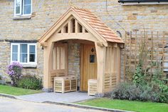 new traditional house build with porch uk - Google Search