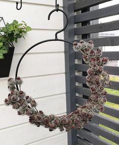 Ideatasku: kranssit Wreaths, Home Decor, Decoration Home, Door Wreaths, Room Decor, Deco Mesh Wreaths, Home Interior Design, Floral Arrangements, Garlands