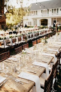 8 Astoundingly Chic Wedding Ideas to Steal in 2016 via @MyDomaine