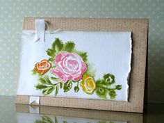A Blog Named Hero: Indirect watercoloring techique