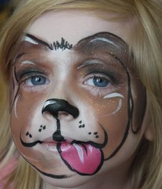 pink cheetah Face Paint | Index of /parties/youngsters
