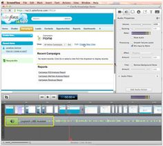 How to make a salesforce training video