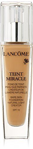 Foundation Makeup | Lancome Teint Miracle Bare Skin Foundation SPF 15 Natural Light Creator No 035 Beige Dore 1 Ounce ** See this great product.(It is Amazon affiliate link) #likeall