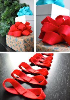 VM designblogg: DIY : Φιόγκοι από Felt