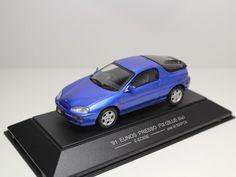 SAPI MODELS EUNOS PRESSO FiX 1991 BLUE E-EC8SE MAZDA MX-3 30X AZ-3 1/43 #SAPIMODELS #MazdaAutozamEunos
