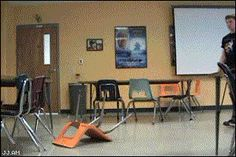 They refuse to allow themselves to be defeated by chairs: | 20 Reasons Why People Are Seriously Amazing