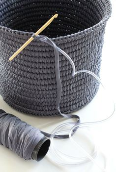 KoloDIY: Круглая вязаная сумка своими руками