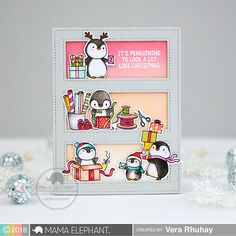 mama elephant | Stamp Highlights : COOL PENGUINS