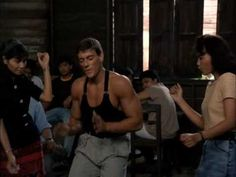 Kickboxer Jean Claude Van Damme Dance [HD] http://www.youtube.com/watch?v=CE8XKeN0zk4