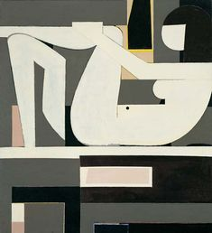 Dialogue, 1974 by Yiannis Moralis. Abstract Art. abstract. National Art Gallery (Alexandros Soutzos Museum), Athens, Greece