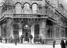 Cafe Central - the meeting place of the Jung Wien post - Picsize Website Cafe Restaurant, Austro Hungarian, Meeting Place, Vienna, Old Pictures, Vintage Photos, Street Photography, Old Things, History