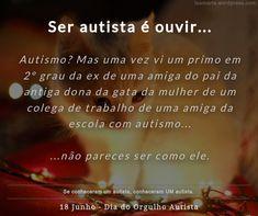 PEA, TEA, Espectro Autismo Getting To Know, School, Autism, Cousins, Gray
