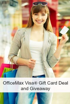 OfficeMax Visa® Gift Card Deal and Giveaway #Omax300