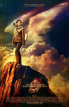 Neues THE HUNGER GAMES: CATCHING FIRE Poster #HungerGames #CatchingFire